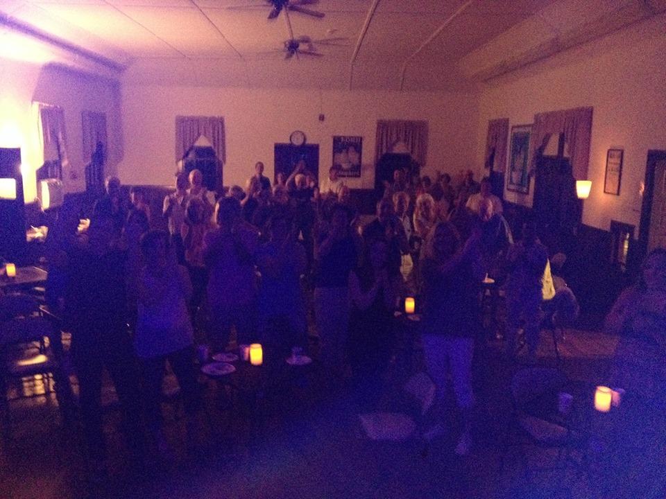 Pottersville Community House Audience